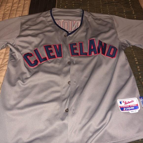 new concept 89e84 263cb MLB Cleavland Indians Lindor Jersey